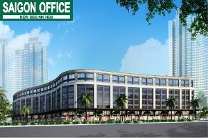 Cho thuê văn phòng và shophouse tại Saigon Pearl giai đoạn 3
