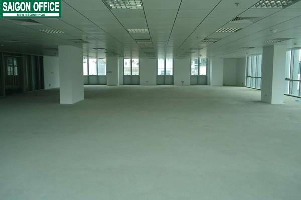 Mặt bằng sàn tòa nhà Minh Long