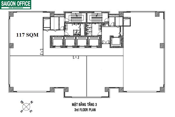 Cho thuê văn phòng tại CJ Building