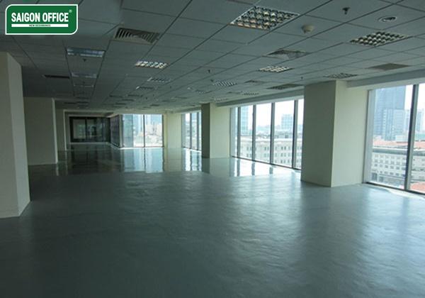 Sàn phòng phòng tòa nhà Vincom Office Đồng Khởi
