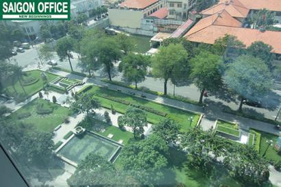 view từ Vincom Office