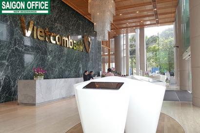 Bên trong tòa nhà Vietcombank