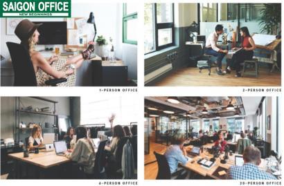 Văn phòng cho thuê trọn gói We Work