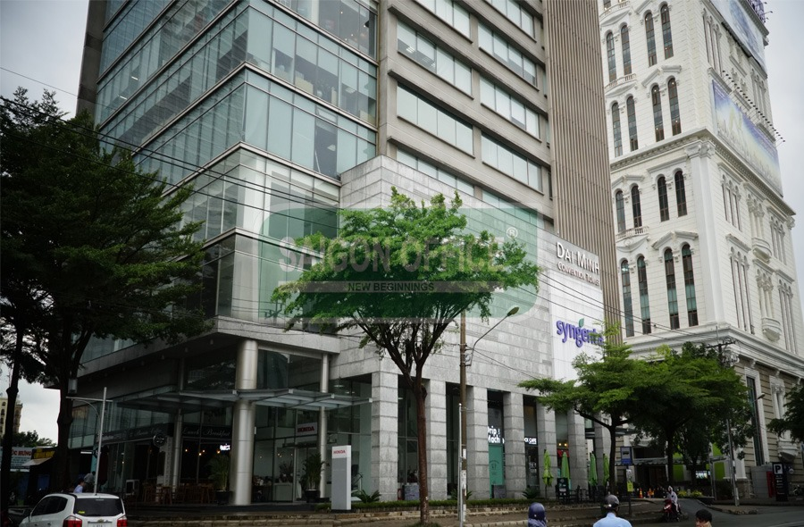 DAI MINH Tower - Office for lease in District 7 Ho Chi Minh City