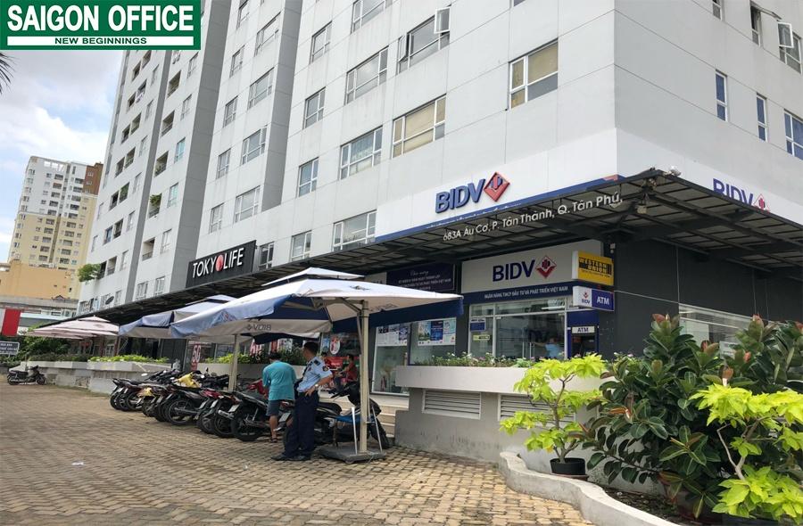 Văn phòng cho thuê Quận Tân Phú tòa nhà Babylon Building