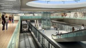 TP HCM rào đường Lê Lợi xây ga ngầm metro Bến Thành