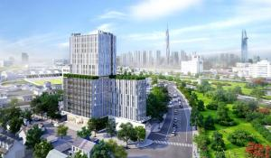 PARK IX TOWER  - OFFICE FOR LEASE IN TAN BINH DISTRICT HCMC