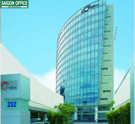 Văn phòng cho thuê quận Bình Thạnh tại Coteccons Tower